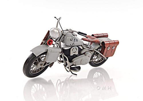 1939 Harley Davidson Military Motorcycle Model