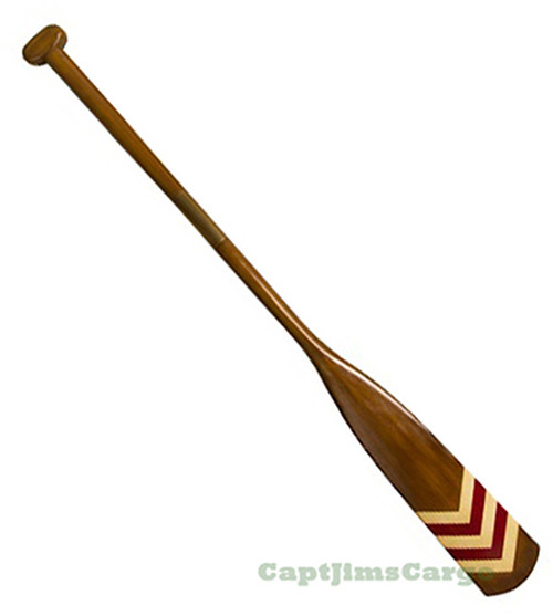 Royal Barge Oar #1 Wooden Decorative Paddle
