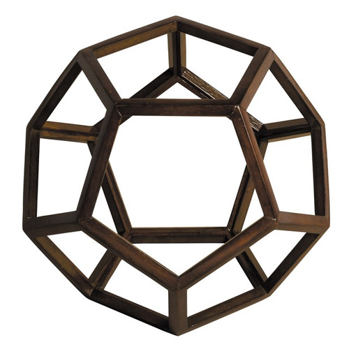 3D Geometric Ether Model Polyhedron Office Accent