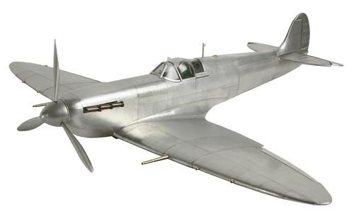 RAF Supermarine Spitfire Aluminum Airplane Model