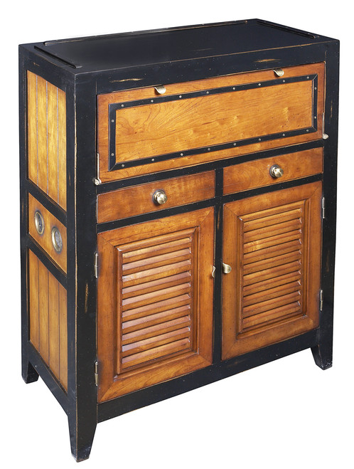 Cape Cod Console Cabinet Nautical Storage Furniture