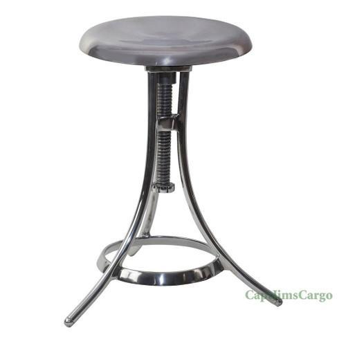 Clockmaker's Stool #2 Work Bench Kitchen Chair Aluminum