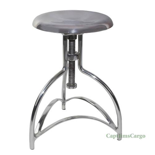 Clockmaker's Stool #3 Kitchen Chair Aluminum Adjustable