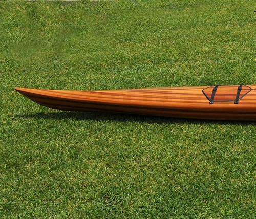 Cedar Wood Strip Built Hudson Surf Kayak
