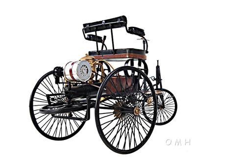 Mercedes Benz Motorwagen Metal Desk Car Model