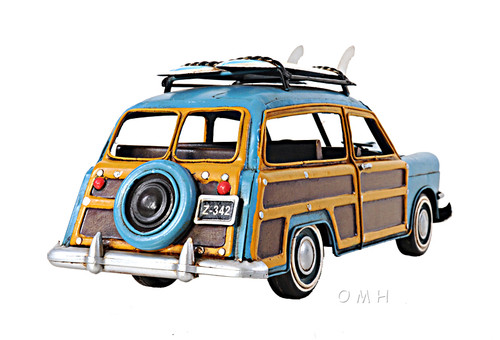 1949 Ford Station Wagon Woody Metal Car Model