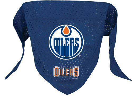 ef7c2520a Edmonton Oilers Dog Pet Mesh Hockey Jersey Bandana - Spawty