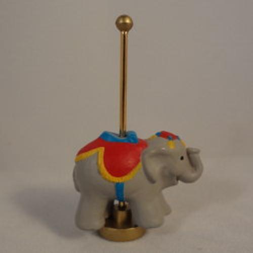 1991 Carousel Elephant