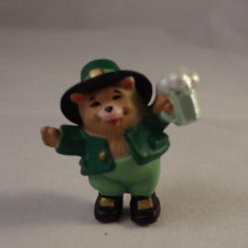 1989 Bear With Beer Mug
