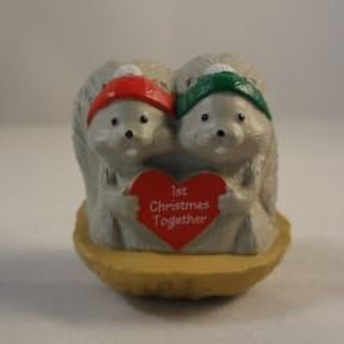 1992 1St Christmas - Squirrels