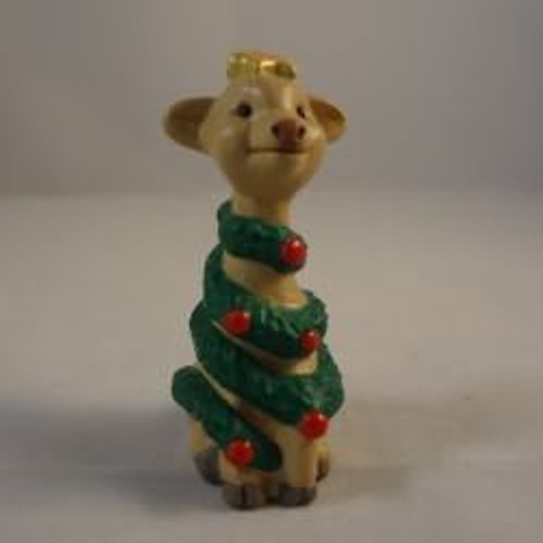 1992 Giraffe As Christmas Tree