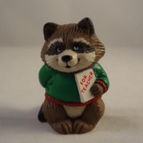 1991 Teacher - Raccoon