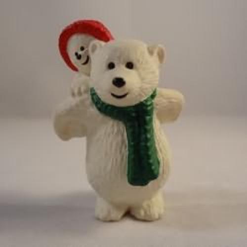 1990 Papa Polar Bear With Child
