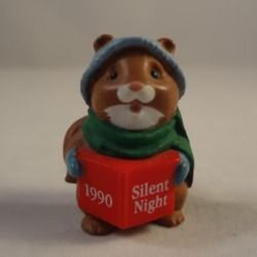 1990 Squirrel Caroler