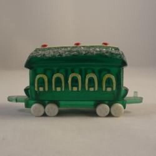 1989 Green Train Car