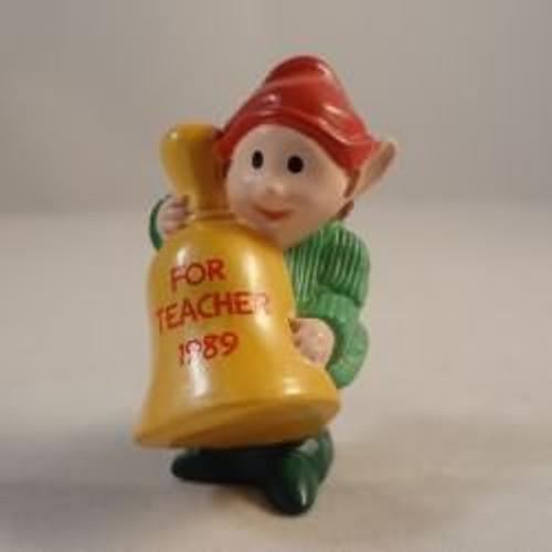 1989 Teacher Elf With Bell