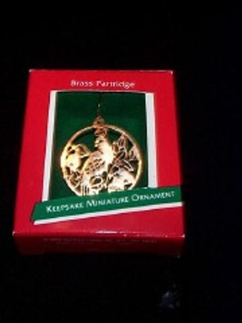 1989 Brass Partridge