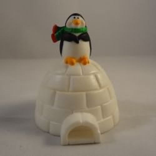 1986 Penguin On Igloo