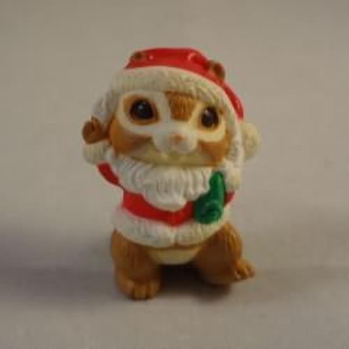 1985 Mr. Chipmunk Santa