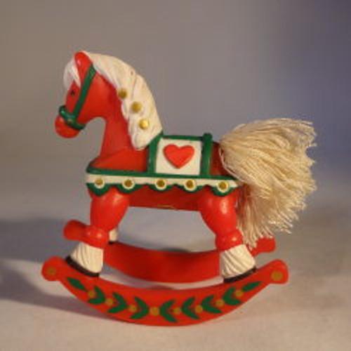 1982 Rocking Horse