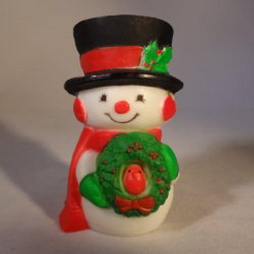 1976 Mr. Snowman - Wreath