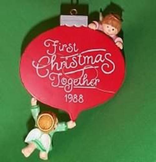 1988 1St Christmas Together - Angels