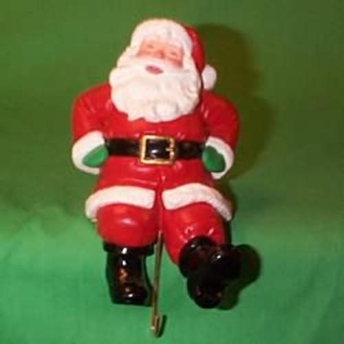 1988 Santa Claus - Stocking Hanger