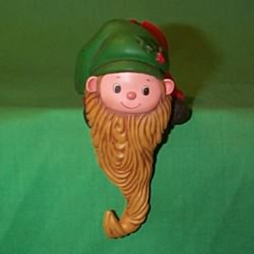 1979 Elf With Beard - Stocking Hanger