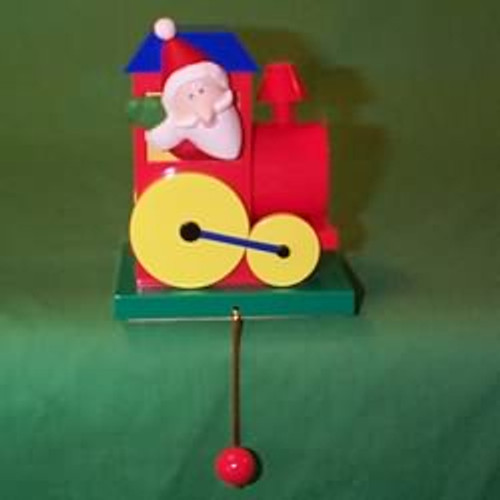 1992 Christmas Train - Stocking Hanger
