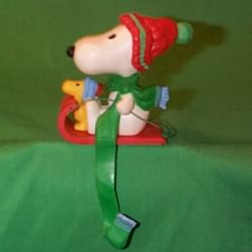 1978 Snoopy - Stocking Hanger