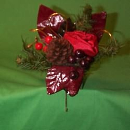 1992 Holiday Bouquet - Stocking Hanger