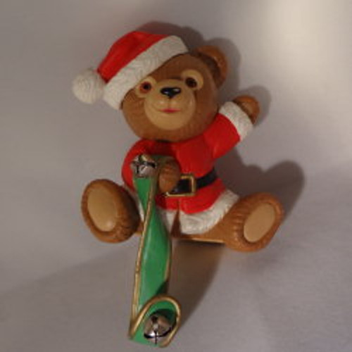 1988 Jingle Bear - Stocking Hanger