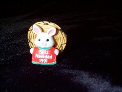 1991 Feliz Navidad - miniature