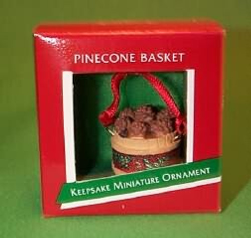 1989 Pinecone Basket