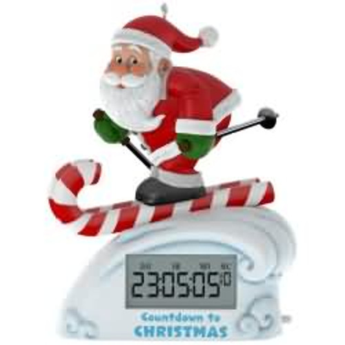 2017 countdown to christmas hallmark ornament qgo1425 - Hallmark Christmas Decorations 2017