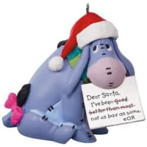 2017 disney a letter to santa winnie the pooh hallmark ornament qxd6152