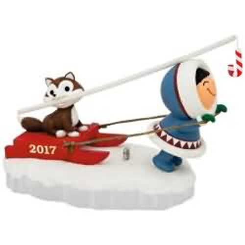 2017 Frosty Friends #38 Hallmark ornament - QX9362
