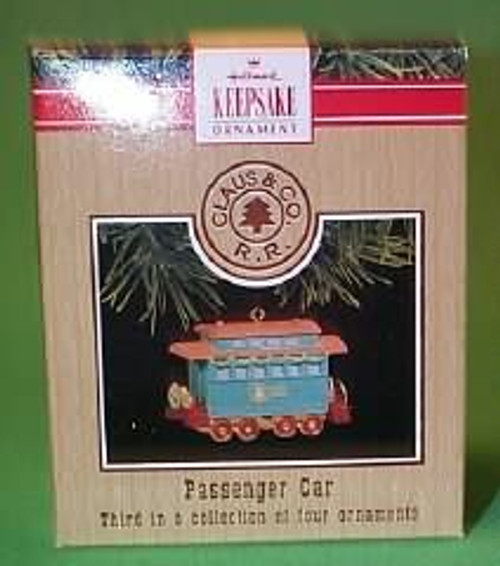 1991 Claus And Co Railroad - Passenger Car