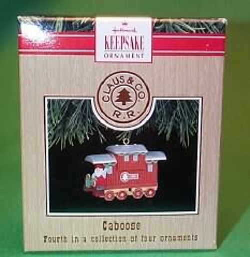 1991 Claus And Co Railroad - Caboose