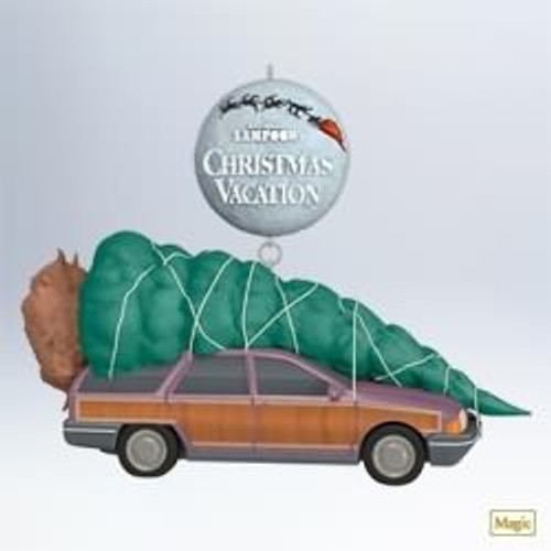 Christmas Tree Miracle Movie: Wagon Queen Family Truckster