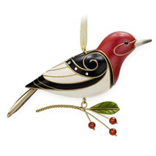 2009 Beauty Of Birds #5 - Red Headed Woodpecker