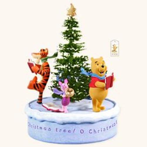 2008 winnie the pooh o christmas tree - Winnie The Pooh Christmas Decorations