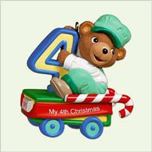 2005 Child's 4th Christmas - Bear