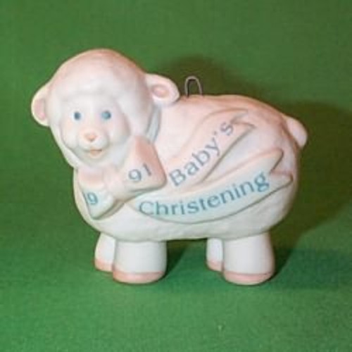 1991 Babys Christening