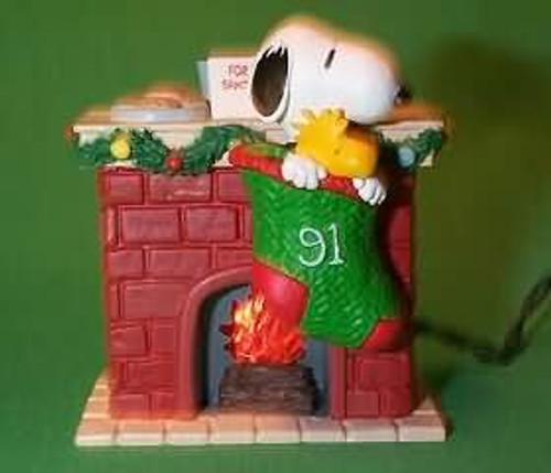 1991 Peanuts Lighted #1