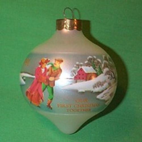1991 1st Christmas Together - Bulb