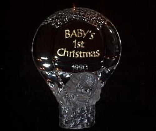 1990 Babys 1st Christmas - Acrylic