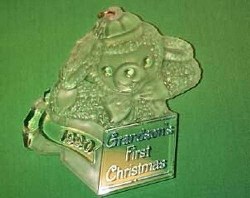 1990 Grandson 1st Christmas - Acrylic
