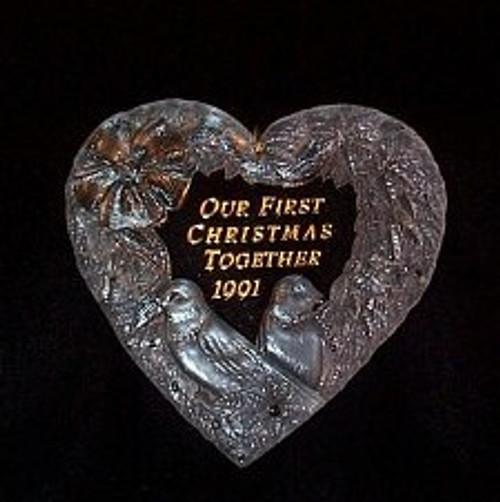 1991 1st Christmas Together - Acrylic