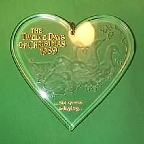 1989 12 Days Of Christmas #6 - Geese A Laying